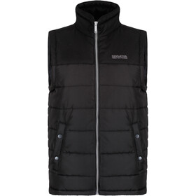 Regatta Hadley B/W Vest Men Black/Black